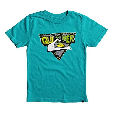 Quiksilver Little Boys' Super Boys Tee Green