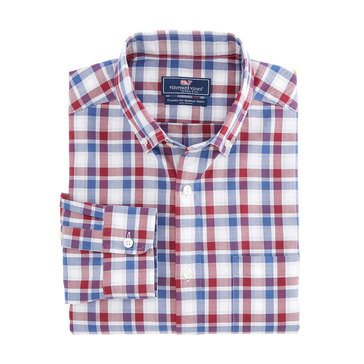 Vineyard Vines French Quarter Plaid Classic Murray Shirt
