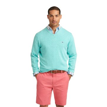 Vineyard Vines Men's Lightweight Long Sleeve V Neck Sweater