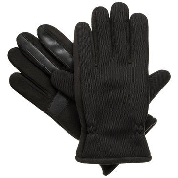 Totes Isotoner Men's Active Sport Smart Touch Gloves - Black