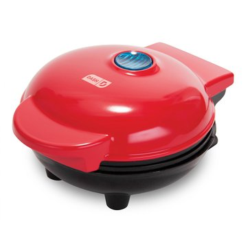 Dash Mini Waffle Maker, Red (DMW001RD)