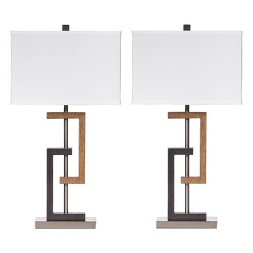 Signature Design by Ashley 2-Pack Syler Table Lamps