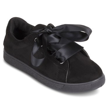 Wanted Jezebel Lace Up Sneakers Black