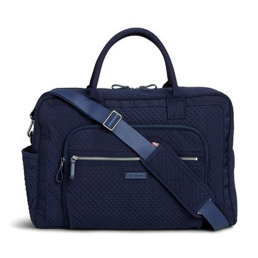 Vera Bradley Weekender Travel Bag Iconic Navy