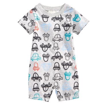 First Impressions Baby Boys' Car Print Sunsuit