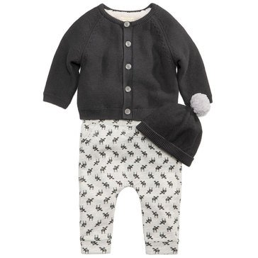 First Impressions Baby Boys' Moose Sweater Set
