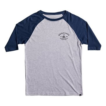 Quiksilver Big Boys' Archer Raglan Tee, Heather