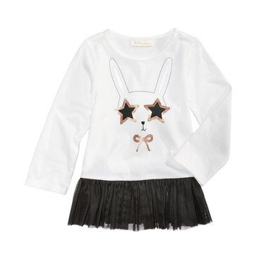 First Impressions Baby Girls' Bunny Tulle Tunic