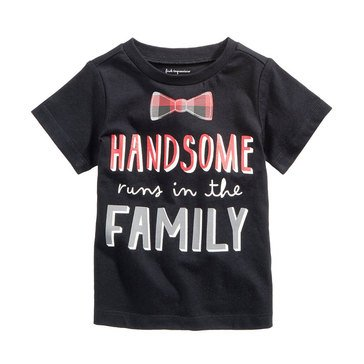 First Impressions Baby Boys' Handsome Tee