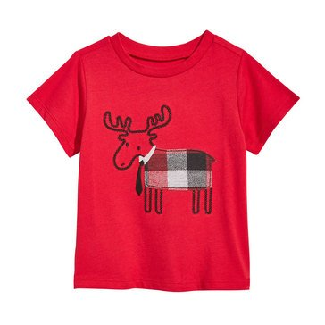 First Impressions Baby Boys' Moose Tee