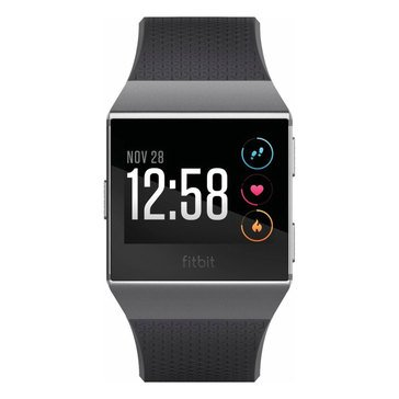 Fitbit Ionic Smartwatch - Charcoal/Smoke Grey