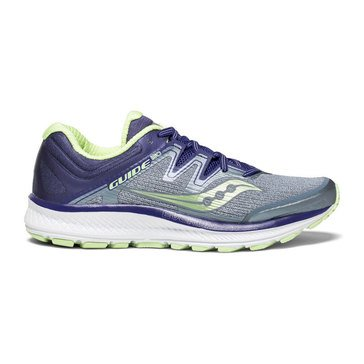 Saucony Guide ISO Women's Running Shoe - Fog / Purple / Mint