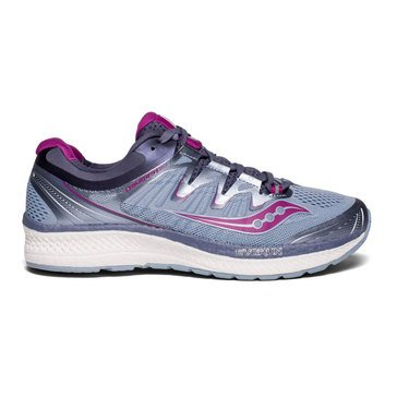 Saucony Triumph ISO 4 Women's Running Shoe - Fog / Grey / Purple