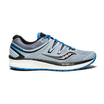 Saucony Hurricane ISO 4 MEn's Running Shoe - Grey / Blue / Black