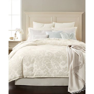 Martha Stewart Collection Feather Breeze 14-Piece Comforter Set, White - King