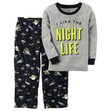 Carter's Little Boys' Pajamas, I Like The Night Life
