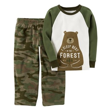 Carter's Little Boys' 2-Piece Pajama Set, I Sleep In The Forest