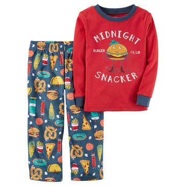 Carter's Little Boy's 2-Piece Pajama Set, Midnight Snacker