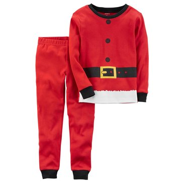 Carter's Toddler Boys' Christmas 2-Piece Pajama Set, Santa Suit