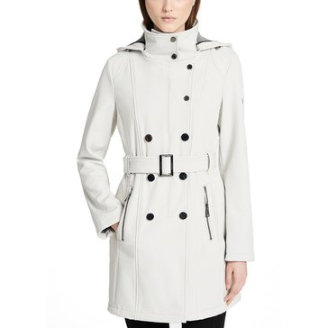 Calvin Klein Women's Soft Shell Long Coat