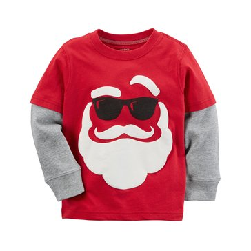 Carter's Toddler Boys' Christmas Tee, Santa