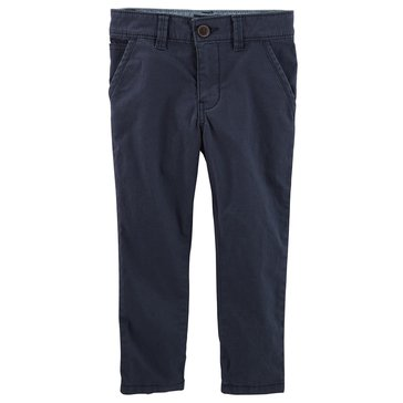 Oshkosh Little Boys' Slouch Straight Chinos, Navy