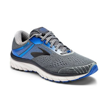 Brooks Adrenaline GTS 18 2E Men's Running Shoe Grey/Blue/Black