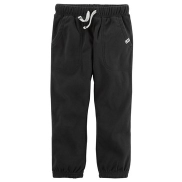 Carter's Little Boys' Cinched Bottom Pants, Black