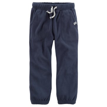 Carter's Little Boys' Cinched Bottom Pants, Navy