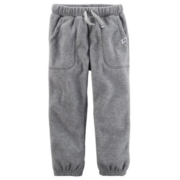 Carter's Little Boys' Cinched Bottom Pants, Heather