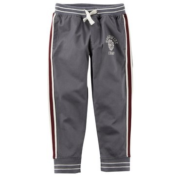 Carter's Little Boys' Grey Woven Athletic Pants