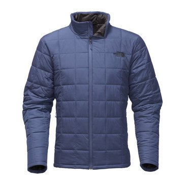 TNF HARWAY QUILTED JACKET SHADY BLUE