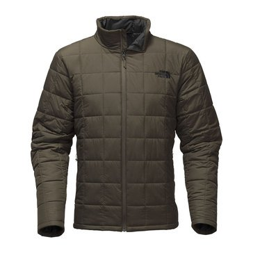 TNF HARWAY QUILTED JACKET TAUPE GRN