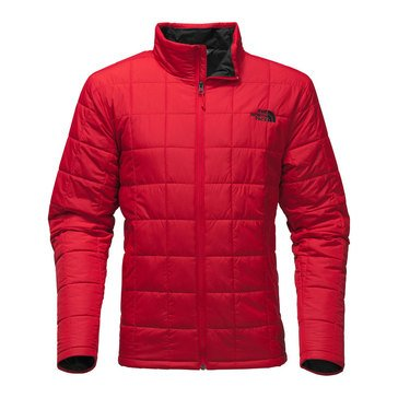 TNF HARWAY QUILTED JACKET TNF RED