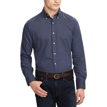Polo Ralph Lauren Men's Standard-Fit Chevron Print Shirt