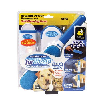 As Seen On TV Hurricane Fur Wizard Pet Fur and Lint Remover