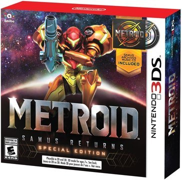 3DS Metroid: Samus Returns Special Edition