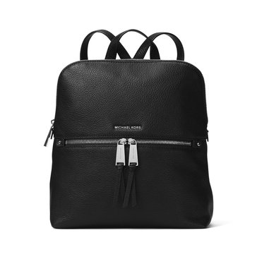 Michael Kors Rhea Zip Medium Slim Backpack Black