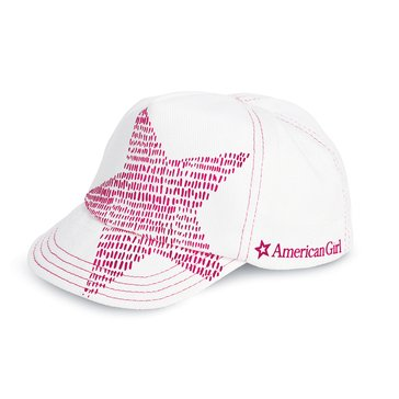 American Girl Shining Star Baseball Hat for Dolls