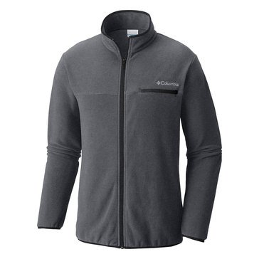 Columbia Mountain Crest Fleece Full Zip Jacket - Graphite