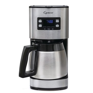 Capresso 10-Cup Stainless Steel Coffee Maker (ST300)