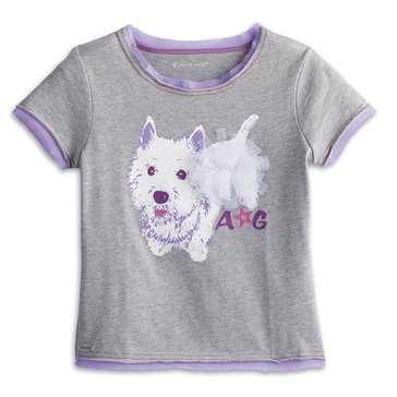American Girl Berry Line Fashion Tee for Girls