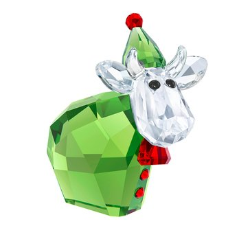 Swarovski Crystal Living Santa's Helper Mo