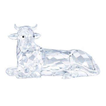 Swarovski Crystal Living Nativity Scene, Ox