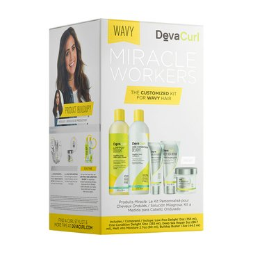DevaCurl Miracle Workers 5-Piece Kit - Wavy