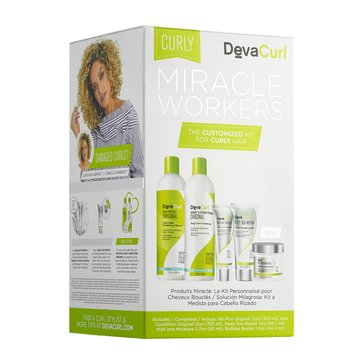 DevaCurl Miracle Workers 5-Piece Kit - Curly