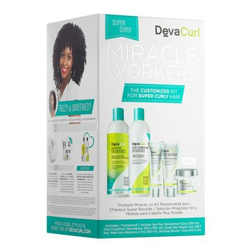 DevaCurl Miracle Workers 5-Piece Kit - Super Curly