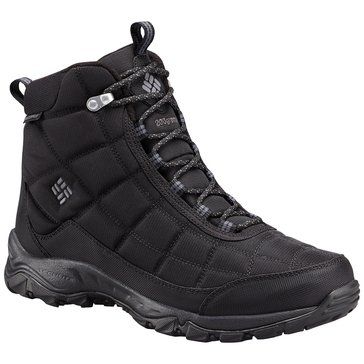 Columbia Firecamp Boot Men's Hiking Boot Black/City Grey