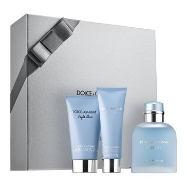 Dolce & Gabbana Light Blue For Men Intense Set