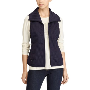 Lauren Ralph Lauren Aleksi Vest in Real Navy
